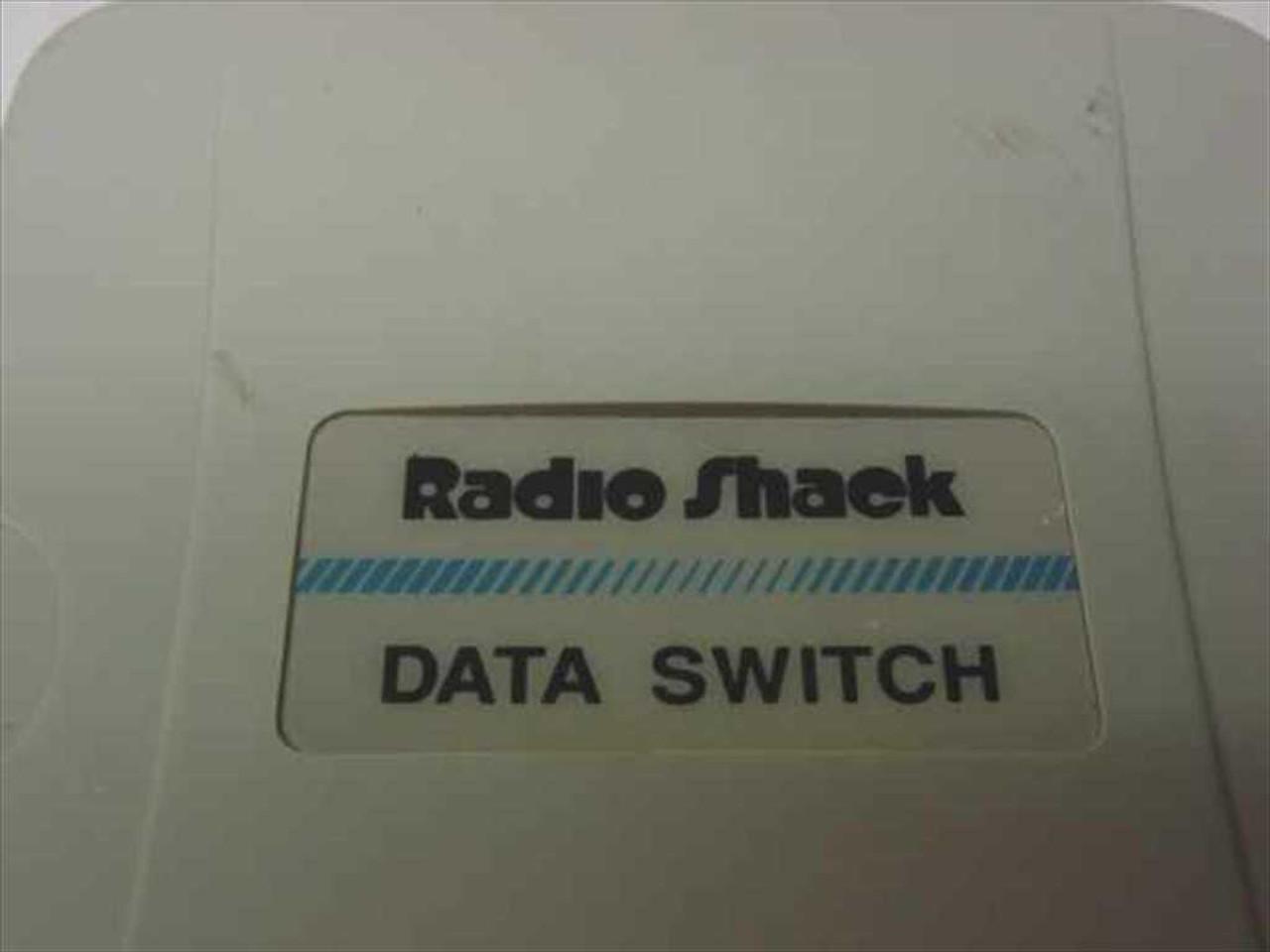 Radio Shack 25-Pin Manual Parallel Serial Data Switch (2-Port)