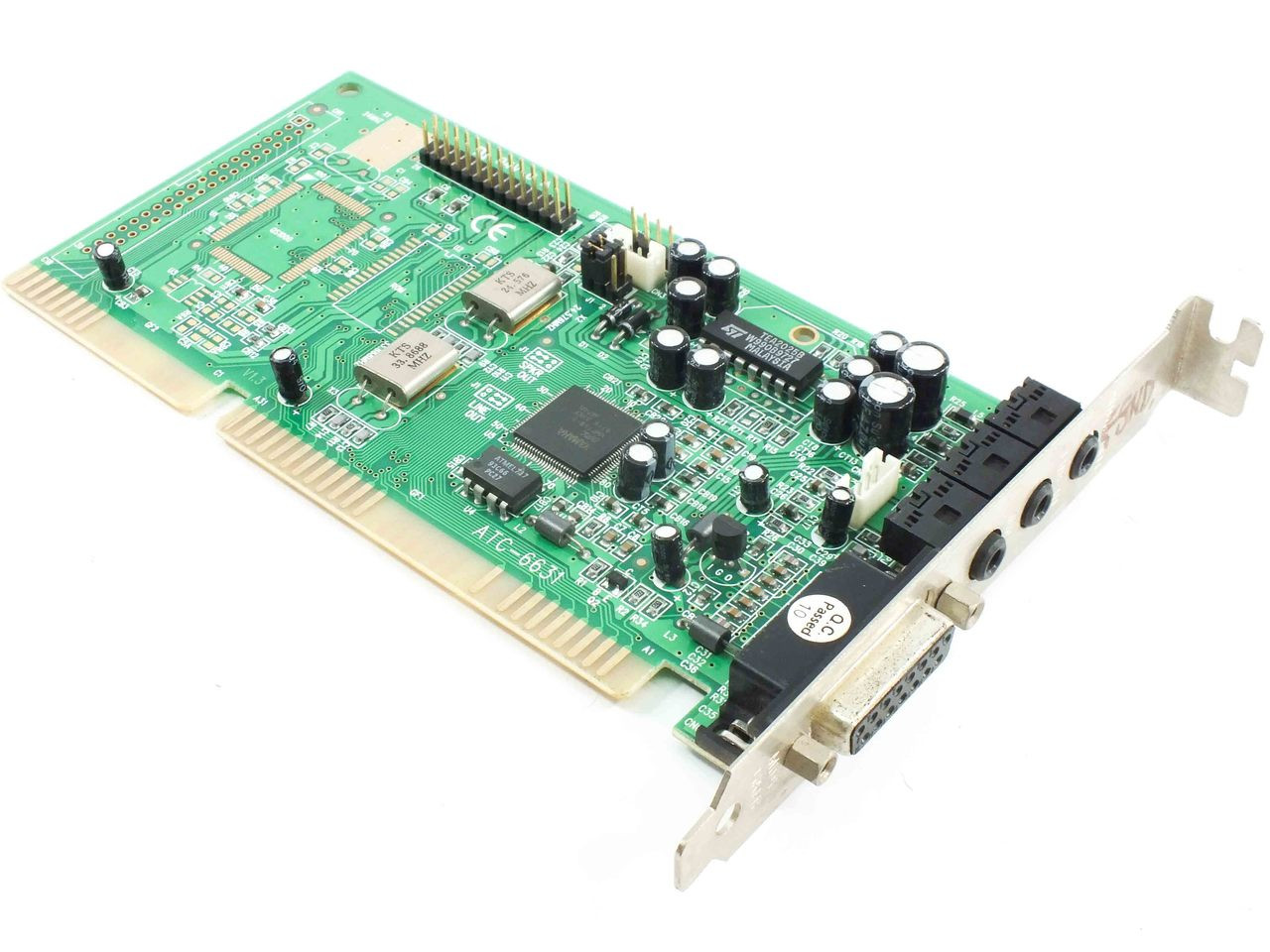 Yamaha ATC-6631 16-Bit ISA Sound Card OPL YMF719 Chip with Game Port
