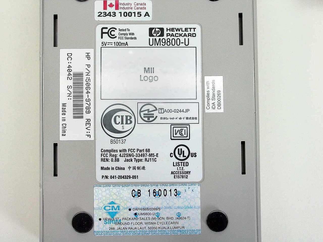 HEWLETT PACKARD 56K V90 USB E MODEM DESCARGAR DRIVER