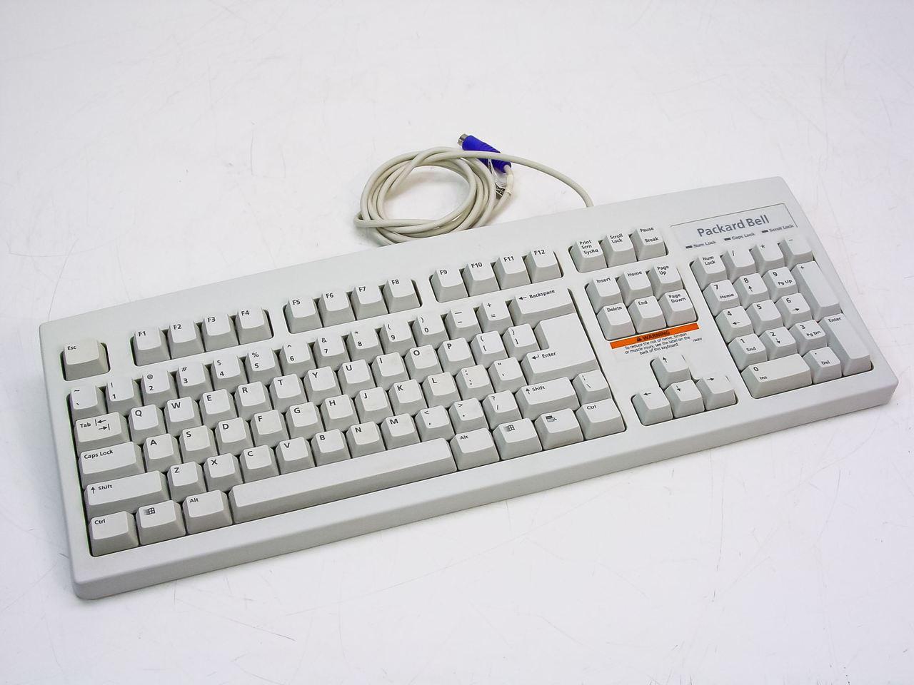 Packard Bell Keyboard German KB.PS20B.067