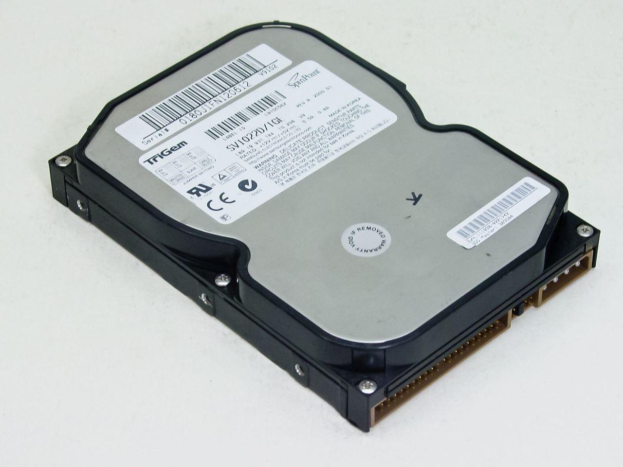 TriGem 102GB 35 ATA 66 5400RPM IDE Hard Drive SV1022D