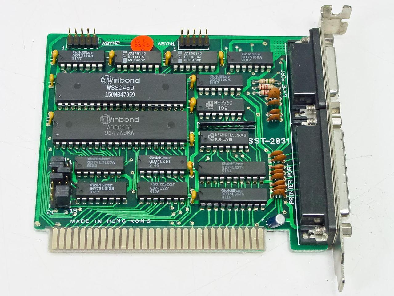 ASKA ISA 8 Bit Parallel Printer Game Port SST