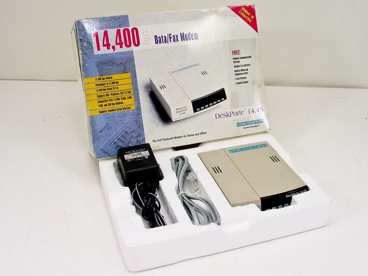 DRIVER FOR 14.4 BPS DATA FAX MODEM
