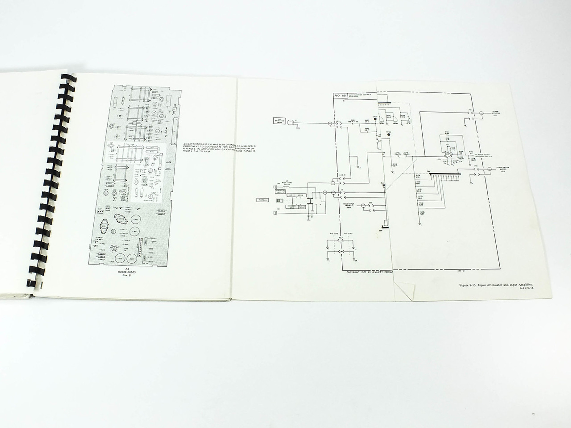 HP 339A Distortion Measurement Set Operating and Service