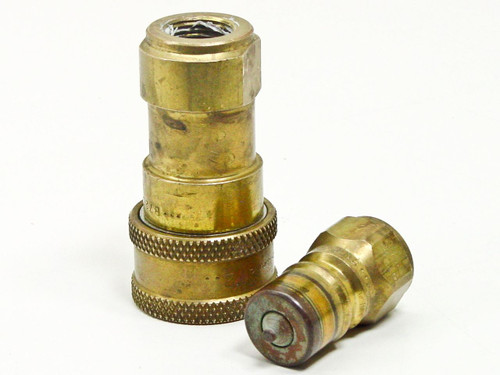 Snap-Tite 72-Series B72N6 B72C6 Quick Disconnect Brass Male Female Coupling Set