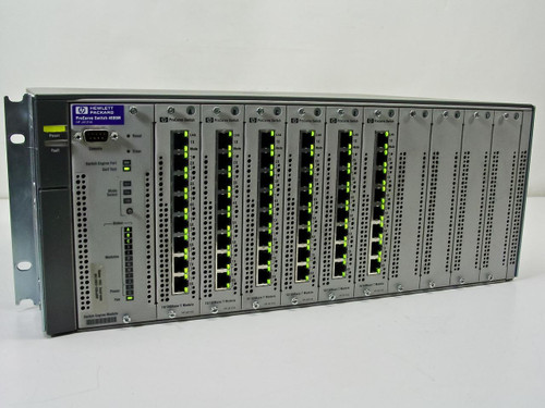 HP J4121A ProCurve Switch 4000m 10/100/100 with 6x J4111A Modules