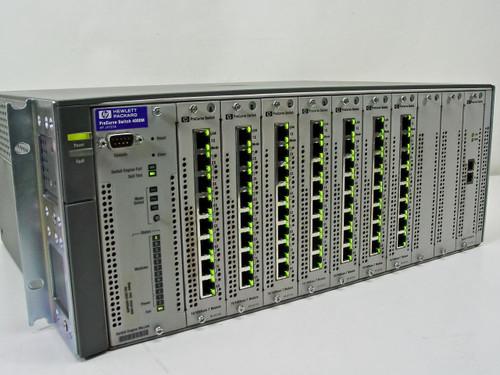 HP J4121A ProCurve Switch 4000m 10/100/1000 with 7x J4111A & 1x J4113A Modules