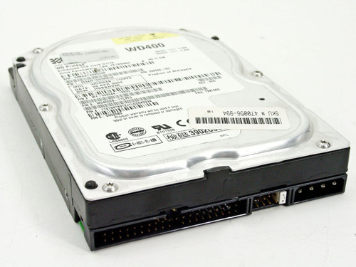 "Compaq 236921-001 40GB 3.5"" IDE Hard Drive HDD - WD400EB - Dell 2K044 - WIPED"