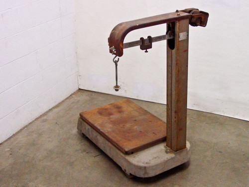 Fairbanks 41-31-32 Industrial 1000Lb Weight Scale