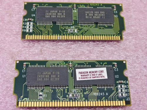 SimpleTech 16MB Kit For Compaq Armada 4100 8MBx2  STC-A4100/8