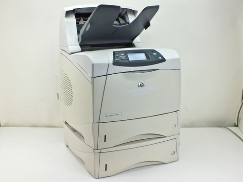 HP Q2428A 4200dtn Laserjet Printer with Stacker Q2442A, Duplex & 2 Paper Trays