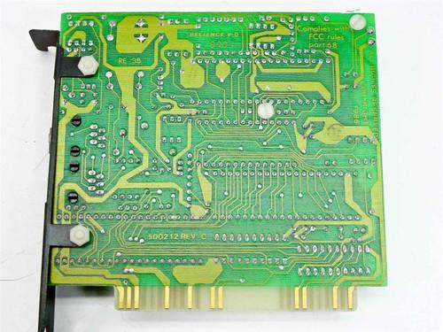 Smart Modem Internal Modem/Telephone/ISDN Short 8 bit ISA 1200B