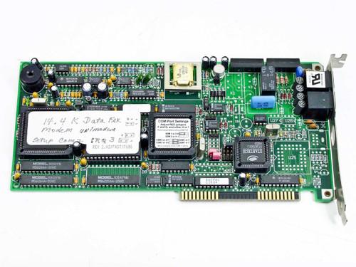 ZOOM TELEPHONICS VFPV32BIS ISA14.4 Fax//Modem Card