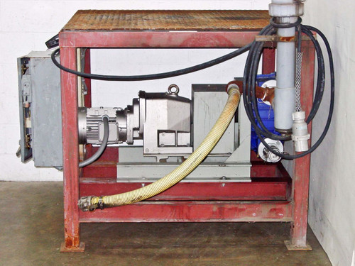 Pennsylvania Scale Platform with Alfa Laval Flow 140FBB Pump 013-04B