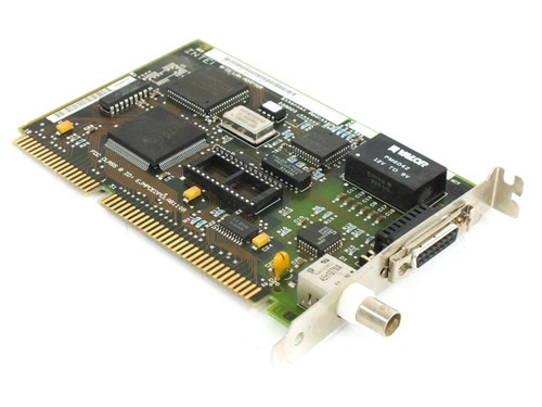 Intel 308710-002 16-Bit ISA EtherExpress 16 8/16 Lan Adapter Card with COAX