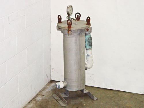 Fulflo 4CSF7-2-2 Multi-Cartridge Filter Housing Stainless Steel Max PSI = 150
