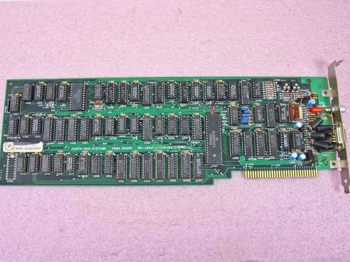 Zenith 85-2892-1 8-Bit ISA Video Card VINTAGE 1983 - 081183 - As-Is / For Parts