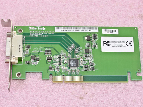 Dell PCI-E Orion ADD2-N Dual Pad x 16 DVI Card (0J4571)