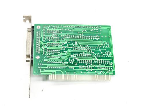 JCC 800310 25-Pin 8 Bit ISA Serial Communication Card - 10 Dip Switch