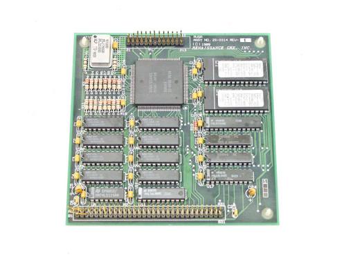 Renaissance GRX Controller Card Vintage 2989 PCB 30-0014 REV B 20-0014 REV E