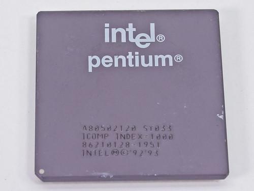 Intel P1 120Mhz Processor - A80502120 (SY033)