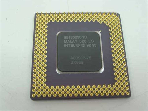 Intel P1 75 Mhz Processor A8050275 (SX969)