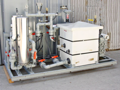 California Hydronics Corp. Heat Transfer Package w/ Duplex Pump Controller P-044