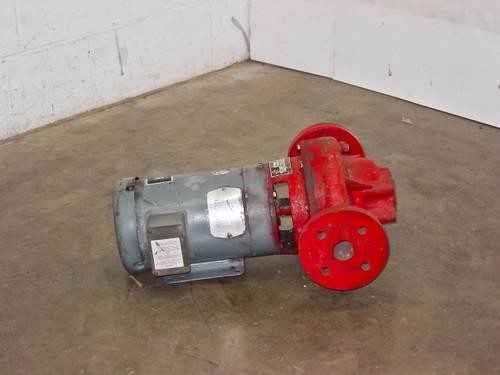 Bell & Gossett 1 1/2X7B 80 Pump 32GPM 3HP 3600RPM Water Pump 230/460 3 Phase