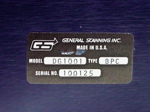 General Scanning Inc Scanner Control Rackmount  DG1001