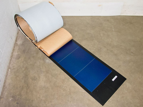 Uni-Solar PVL-136 24V Nominal 136W Flexible Amorphous Solar Panel - Solder Point