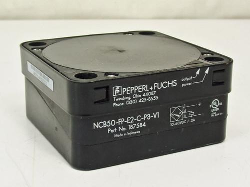 Pepperl Fuchs NCB50-FP-E2-C-P3-V1 Inductive Proximity Sensor - DC 187584