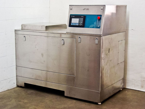 JST DT921E PLC Controlled Ultrasonic Glass Plate Cleaner with AB PanelView 550