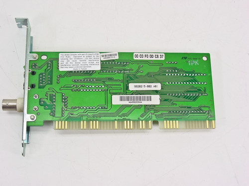 Kingston Ethernet Card with Coaxial Connector (KNE2021LC)