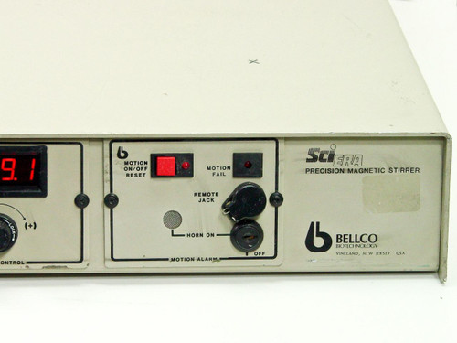 Bellco 77650-56065 Precision Magnetic Lab Stirrer - Battery Port and Reverse