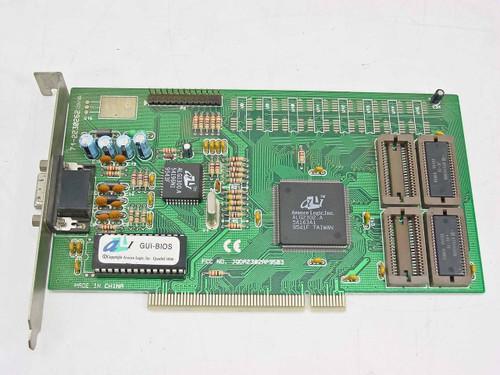 Advance Logic PCI Video Card 15 Pin ALG2302.A 71-2230262