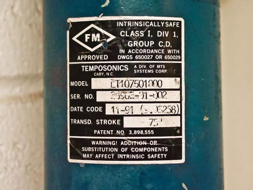MTS Analog Level Transmitter Temposonics LT107501000