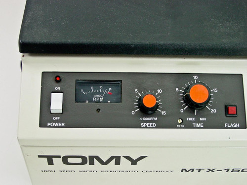 Tomy Seiko MTX-150 15,000 RPM High Speed Micro Refrigerated Centrifuge