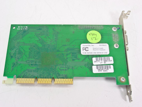 VisionTek  32MB AGP Video Card USA 1999 NV996.0 Rev B