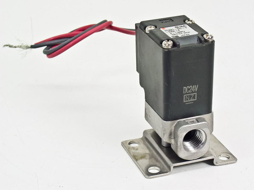SMC 2 Port 24 Volt Direct Operated Solenoid Valve For Air VCA21-5G-3-02N-F 00