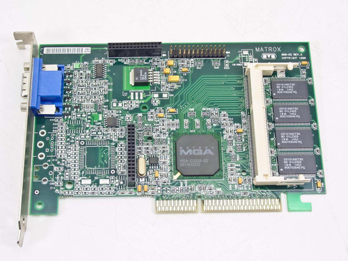 Compaq 400778-002 8MB AGP Video Card (402125-001)