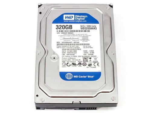 """Western Digital WD3200 320GB 7200 RPM 16MB Cache SATA 3GB/s 3.5"""" Hard Drive"""