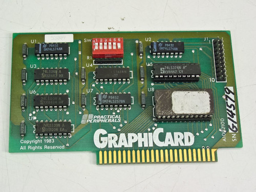 Practical Peripherals 8 Bit GraphiCard Apple II Card (A1002100)