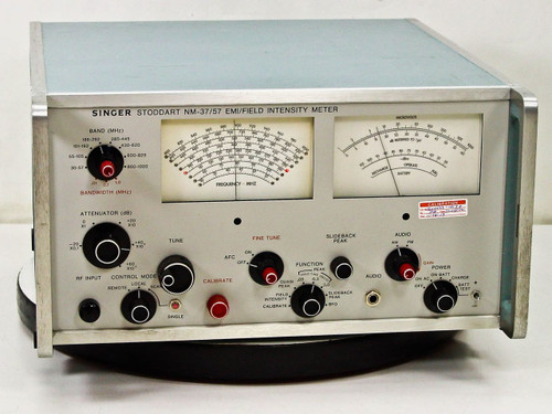 Singer EMI/Field Electromagnetic Field Intensity Meter Stoddart NM-37/57
