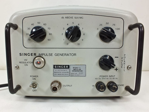Singer Impulse Generator aka Stoddart Calibrated 91263-1