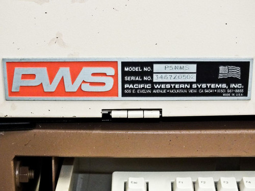 Pacific Western P5NMS PSC Semi-Automatic Wafer Probing Inspection Station