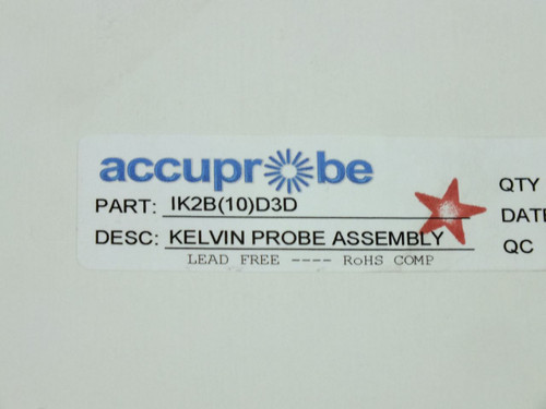 Accuprobe Inc Kelvin-Type Z-Adjustable Probe (Qty1) IK2B(10)D3D