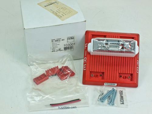 Fenwal 75-000015-001 Multitone Fire Alarm with Strobe 24 Volt DC