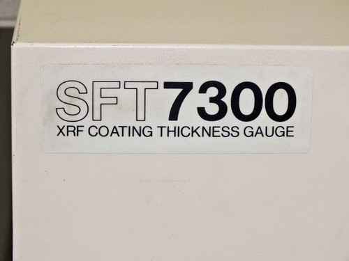 Seiko SFT7000 XRF Coating Thickness Gauge with SFT7300 Monitor -AS-IS