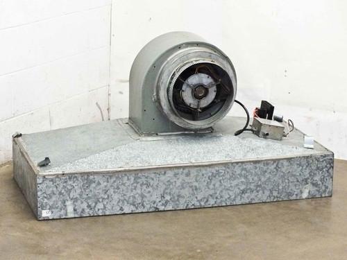 Emerson K55HXSAZ-8219 Laminar Down-Flow Hood 115 Volt w/ Speed Control - As Is