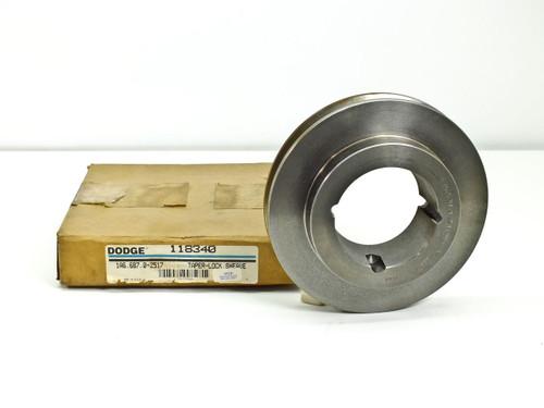 Dodge 118340 Sheave 1A6.6/B7.0-2517 Taper Lock Bush